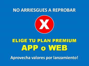 ELIGE LA OPCIÓN WEB O APP PREMIUM 2021, SOMOS EL SITIO WEB OFICIAL DE EDUCACIÓN VIAL EN CHILE.